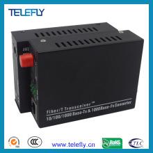 Émetteur-récepteur à fibre optique FC Single Fiber 10/100 / 1000m