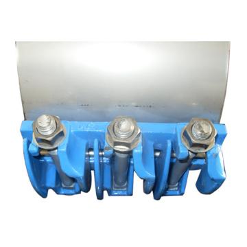 Braçadeira de reparo de vazamento de tubo Conexão flexível sem solda sem fogo Aplica-se a todos os tipos de tubos têm a mesma pressão de vedação