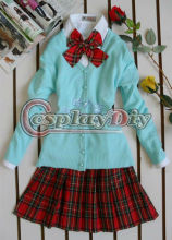 Wholeslae cheap winter girl middle school uniforms