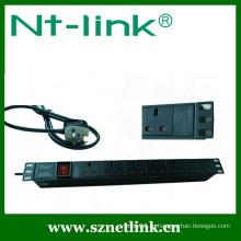 Шэньчжэнь Netlink высокого качества 8-way PPdu гнездо для шкафа