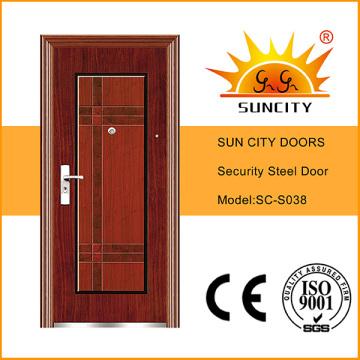 Factory Economic Flush Design Steel Doors (SC-S038)