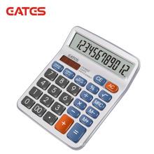 EATES Best Sell 12 Digits Check Correct Calculator Real Solar Desktop Calculator