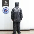 Polícia PVC Full Length Rain Coat