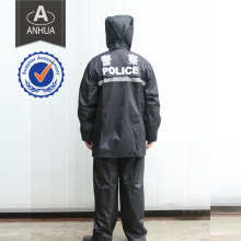 Police PVC Full Length Rain Coat