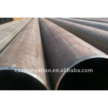 API 5L Gr.B tubo de aço preto / LSAW Tubo