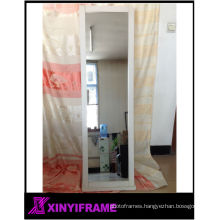 Dressing Rotating Decorative Wooden Standing Mirror Frame