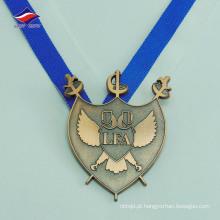 Material de metal preço de fábrica boa qualidade personalizado zinco die cast medalhas