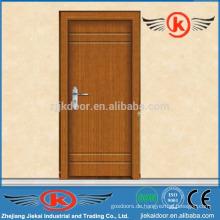 JK-P9222 Innenraum mdf pvc bündig Tür Teakholz Holz Tür Türen