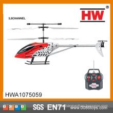 Горячий продукт 3-х канальный металлический детский игрушек Rc Вертолет с гироскопом