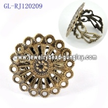 New design jewelry finding ring bases