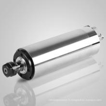 Moteur de broche refroidi à l'eau 2.2KW pour la coupe en métal