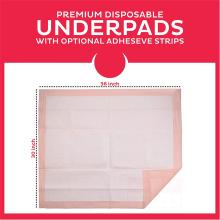 Coussinets de lit pour incontinence Chux ultra absorbants