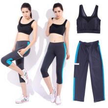 Mujeres Sexy Dry Fit Nylon Spandex Sports Bra
