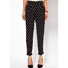 Buen precio de moda de alta calidad pantalones casuales de las mujeres