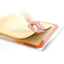 China nuevo producto innovador barato no palo de silicona para hornear mat