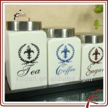 ceramic canister jar