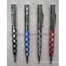 Grid Pattern Company Gift Metal Ball Pen (LT-C422)