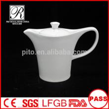 P&T porcelain factory wholesale pots, plain coffee pots, ceramics tea pots