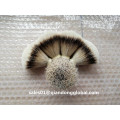 19mm Fan Form Natural Badger Hair Knot