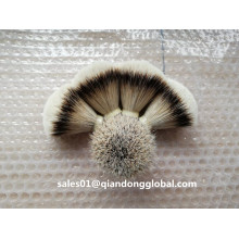 19 mm Forma de fã Natural Badger Hair Knot
