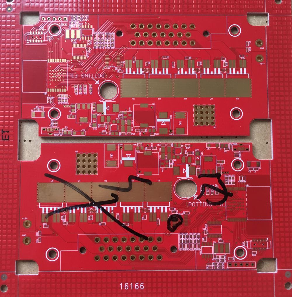 Carte PCB Redondeur HDI à 4 couches