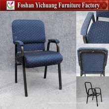 Elegant Church Chair with Armrest (YC-G36-16)