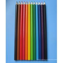 Conjunto de lápices de colores de madera de la naturaleza (Xl-02003