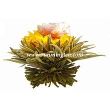 EU padrão chá de florescimento saudável
