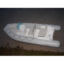 Fiberglass Inflatable Rib Boat with Console CE