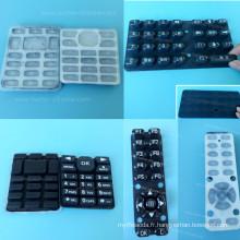 Clavier personnalisé couvre la peau de clavier en silicone