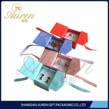 custom design high quality cheap paper jewelry boxes wholesale