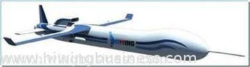 White Unmanned Aerial Vehicle Used In Environment Monitorin