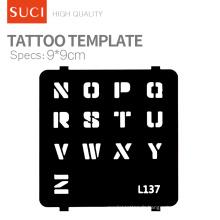 Autocollants temporaires de tatouage Temporary Body Art Tatouage imperméable à l'eau