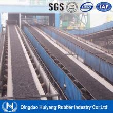 Industrial usado na correia transportadora de aço resistente ao calor da mineração do cabo