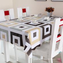 Pano de mesa quadrado de plástico Shinny