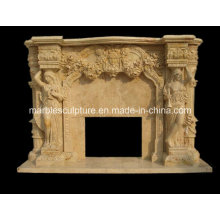 Marble Fireplace Mantel (SY-MF038)