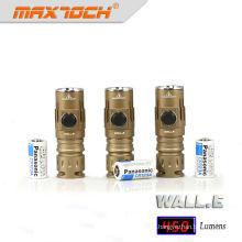 Maxtoch pared. Mini linterna de LED recargable E