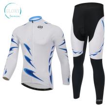 100% Polyester Man's Knit Radfahren tragen