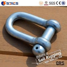 Chinesische Herstellung, die D-Ring-Anker-Schäkel anhebt