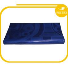 Новый Качество Африканский Базен Feitex Популярные Королевский Синий Цвет Гвинея Парчи Дамасской Ткани Супер Колор Риш