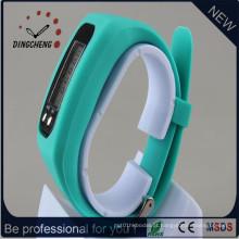 Relógio dos esportes do pulso do bracelete do diodo emissor de luz da forma com logotipo do cliente