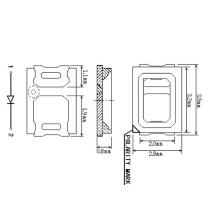 1W White SMD LED 2835 2700-3000-3500K 120 LM