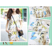 2015new Style, Butterfly Dress, Printed Dress-Flower Girl's Fashion Dress (D-S015)