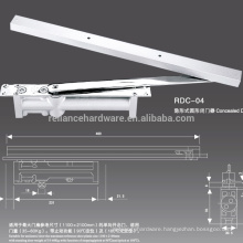 Concealed mount Hydraulic Door Closer with CE