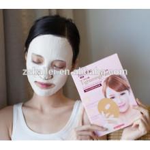 masque facial de traitement de kératine