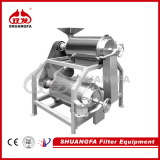 Double Channel Mango Pulping Machine, Durable Fruit Pulping Machine