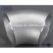 45 Deg seamless bend butt welded bevel end alloy steel elbow in cangzhou