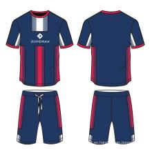 Jersey 100% del fútbol de la sublimación del poliéster, ropa del jersey de fútbol por encargo