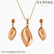 62464-Xuping Conjunto de Jóias de Ouro 18 K Banhado A Ouro Jóias Promoção