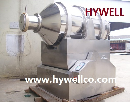 Dried Particles Mixer Machine